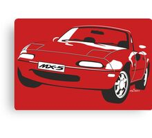Mazda MX-5 Miata Canvas Print