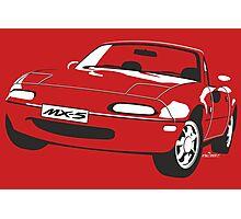 Mazda MX-5 Miata Photographic Print