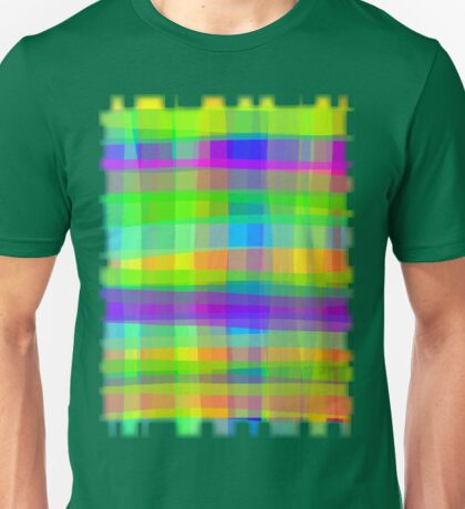 Psychedelic Fabric Texture Pattern Unisex T-Shirt