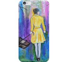 Spring Walk Abstract Landscape colorful vibrant iPhone Case/Skin