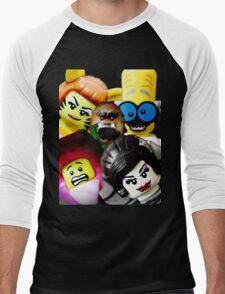 More Monsters and nice spirits Men's Baseball ¾ T-Shirt
