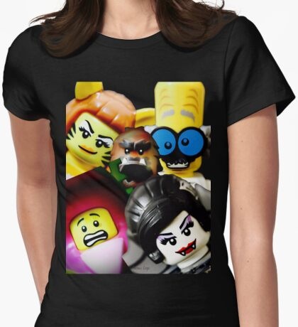 More Monsters and nice spirits Womens Fitted T-Shirt