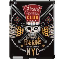 Street fight emblem Five Points iPad Case/Skin