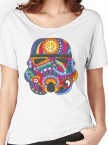 Psychedelic Storm Mask Women's Relaxed Fit T-Shirt