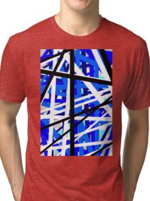 Blue reaction Tri-blend T-Shirt