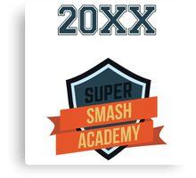 Super Smash Academy Varsity logo Canvas Print