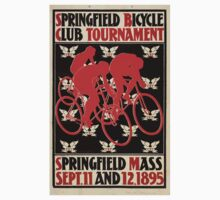 Artist Posters Springfield Bicycle Club Tournament Springfield Mass Sept 11 and 12 1895 Will H Bradley 0195 Baby Tee