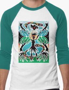 gaia Men's Baseball ¾ T-Shirt