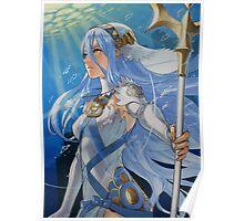 Fire Emblem Fates - Azura / Aqua Poster
