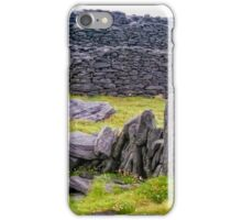 The Black Fort of Inishmore iPhone Case/Skin