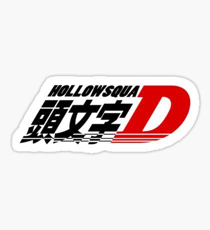 HollowSquad X Inital D Sticker