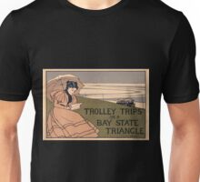 Artist Posters Trolley trips on a Bay State Triangle 1041 Unisex T-Shirt