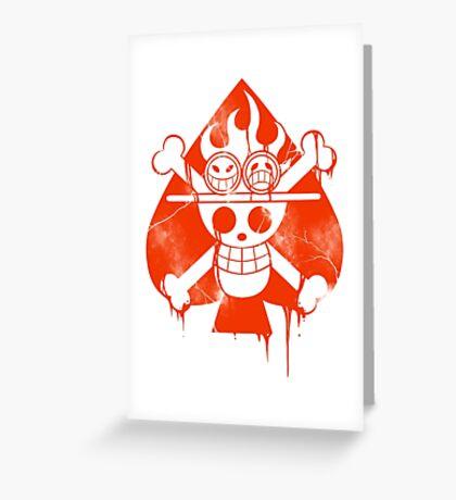 Ace - Spade Pirates Greeting Card