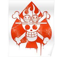 Ace - Spade Pirates Poster