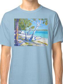 Bribie Beach Sunny Sunday Classic T-Shirt