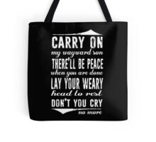 Spn Wayward sons (white version) Tote Bag