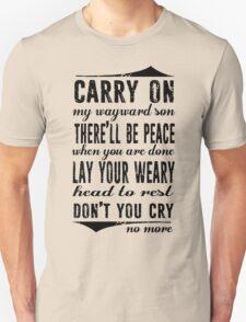 Spn Wayward sons (black version) T-Shirt