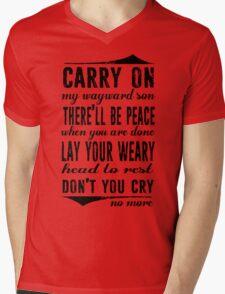 Spn Wayward sons (black version) Mens V-Neck T-Shirt