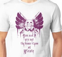 The Same Class of Pirate Unisex T-Shirt