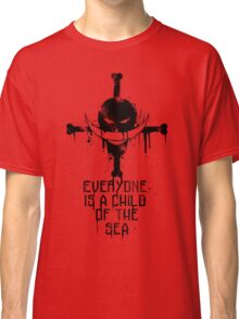 A Child of The Sea - Black Classic T-Shirt
