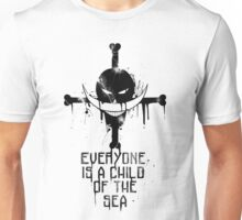A Child of The Sea - Black Unisex T-Shirt