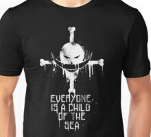 A Child of The Sea - White Unisex T-Shirt
