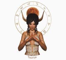 Taurus zodiac fantasy circle Baby Tee
