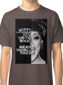 Thorgy Thor Text Portrait Classic T-Shirt