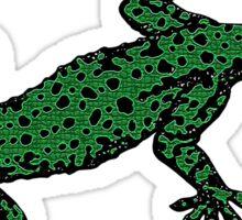 Gecko Lizard Sticker Sticker