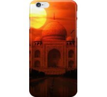 Taj Mahal Sunset iPhone Case/Skin