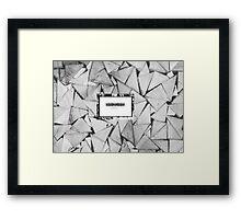 Eva De Costes - BangBangBaby Framed Print