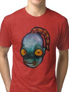 Oddworld: Abe (Acrylic Painting) Tri-blend T-Shirt