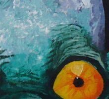 Oddworld: Abe (Acrylic Painting) Sticker