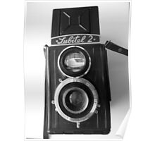 Lubitel 2 Front View Poster