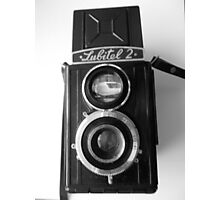 Lubitel 2 Front View Photographic Print