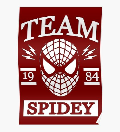 Team Spidey Poster