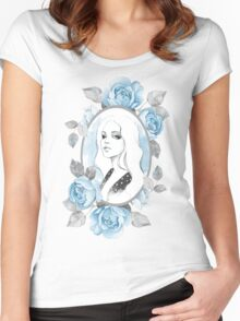 """""""My girl"""" Women's Fitted Scoop T-Shirt"""