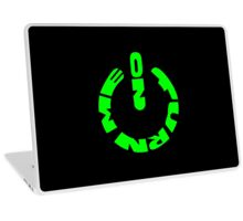 Turn me on - green Laptop Skin