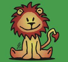 Cute little lion Kids Tee