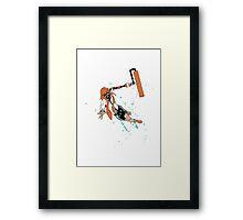 Inkling reaper Framed Print