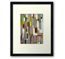 Rainy Season 2 Abstract Framed Print