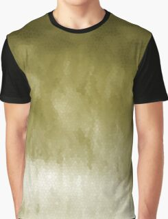 Light Gold Stain Glass Graphic T-Shirt