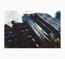 Yonge Street - Downtown Toronto Architecture Left Kids Tee