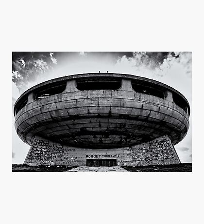Bulgaria - Forget Your Past Photographic Print