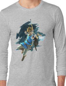 Link - Zelda Wii U / Switch Breath of the Wild Long Sleeve T-Shirt