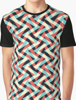 Crazy Retro ZigZag Graphic T-Shirt