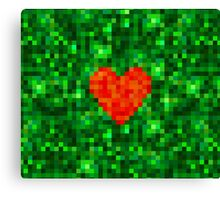 I Love Every Pixel of You Canvas Print