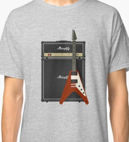 Mamplifier and Flying V Classic T-Shirt