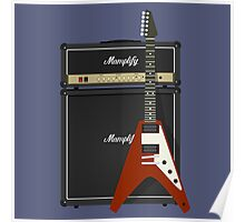 Mamplifier and Flying V Poster