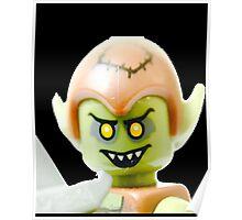 The Lego Goblin minifigure Poster